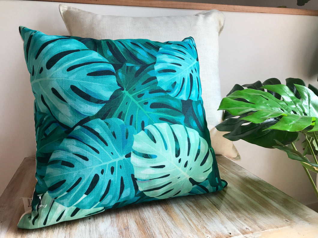Tingira Monstera Pillow