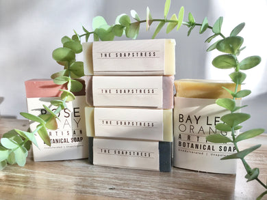The Soapstress - New Botanical Soap Bars