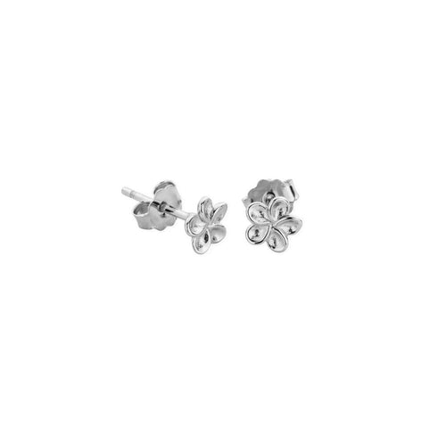 New Nalu Jewels Flower Sterling Silver Earrings