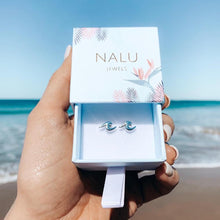 Load image into Gallery viewer, New Nalu Jewels Wave Sterling Silver Earrings