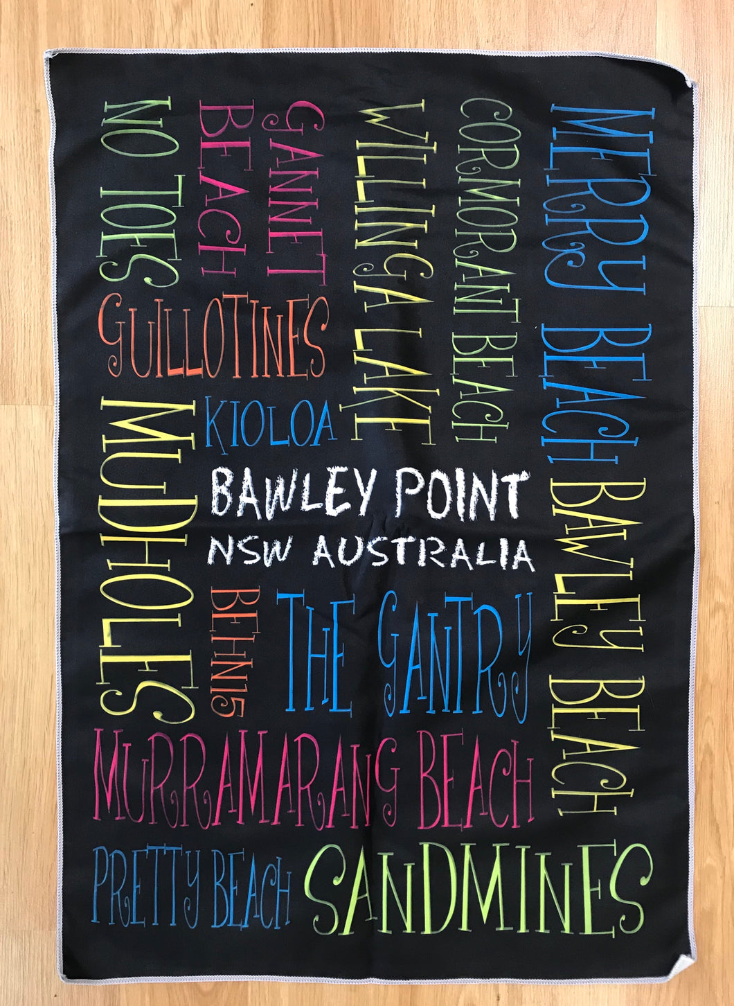 Bawley Point NSW Microfibre Tea-Towels