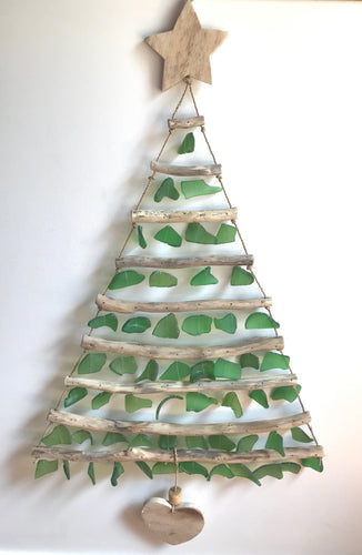 Sea-Glass Christmas Tree Medium
