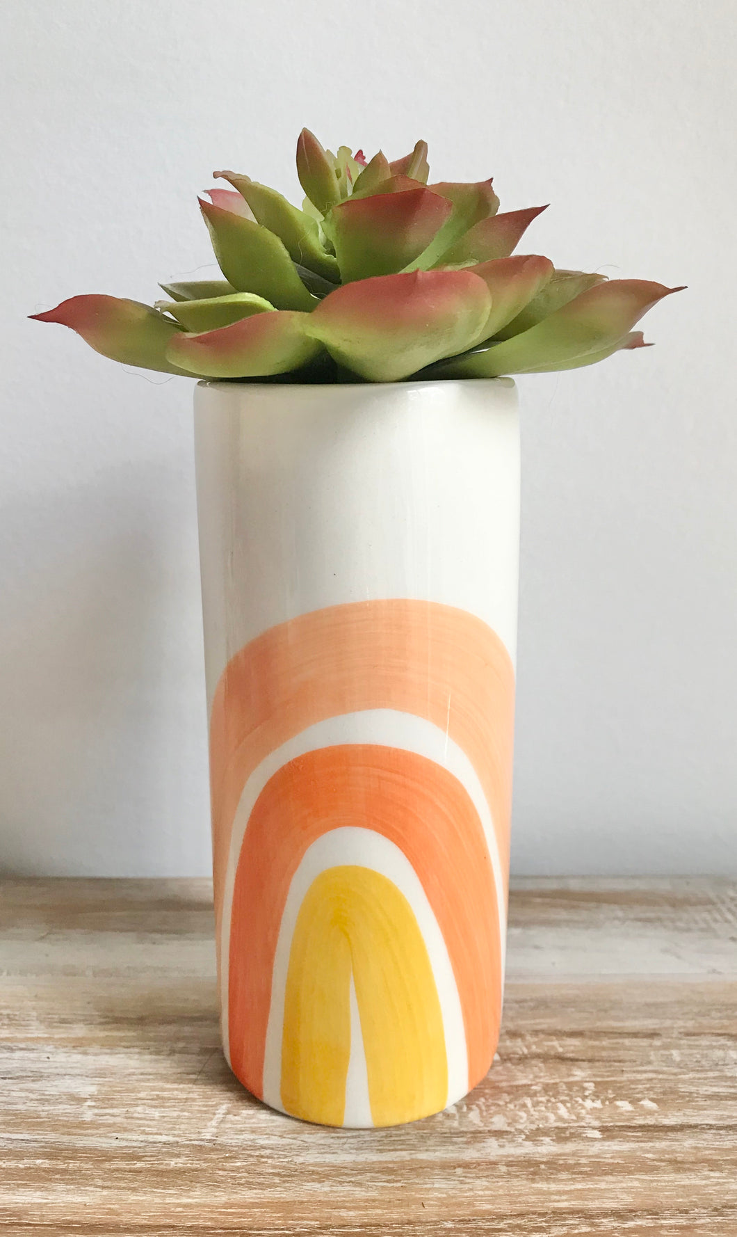 New Rainbow Ceramic Vase Small (Available late June)