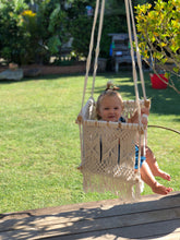 Load image into Gallery viewer, Macrame Baby Swing