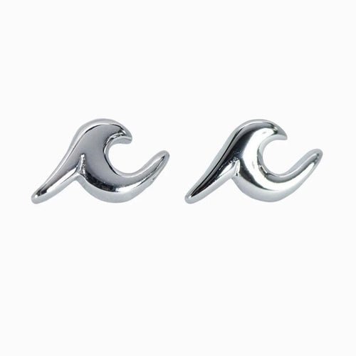 New Nalu Jewels Wave Sterling Silver Earrings