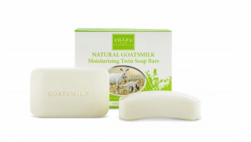 Tilley Goats Milk Soap Twin Pack 2 x 100g