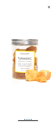 Natural Sense Soaking Stones Turmeric 520g