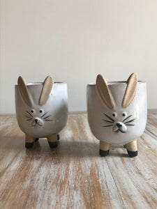 Small Rabbit Planter Pot