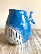 Load image into Gallery viewer, Ceramic Moby Blue Whale Bowl & Jug