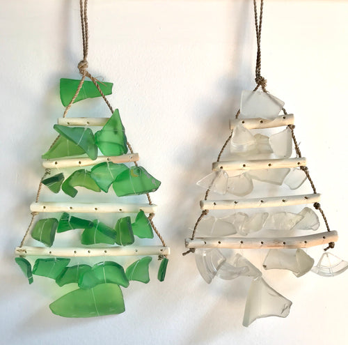 Sea-Glass Christmas Tree Small