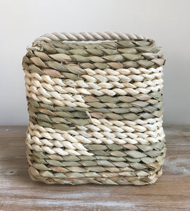 Woven Doorstop Stripe Natural