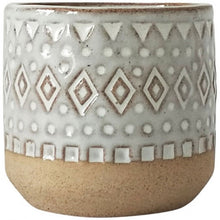 Load image into Gallery viewer, New Small Tan Tribal Planter