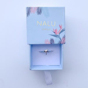 New Nalu Jewels Palm Tree Sterling Silver Ring