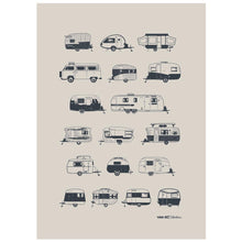 Load image into Gallery viewer, Van Go | Destination Collection Grey Caravans