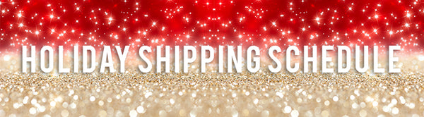 MYTAGALONGS Holiday Shipping Schedule