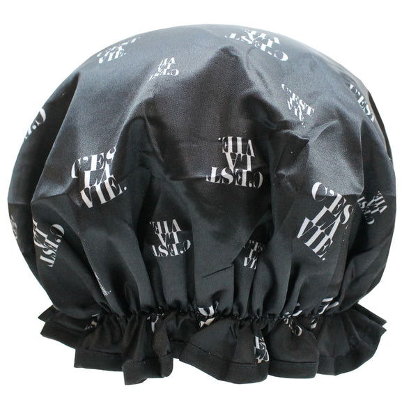 Shower Cap - French Collection - C'est La Vie