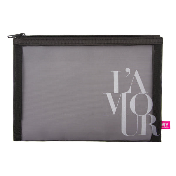 Glamour Mesh Pouch - French Collection (Amour)