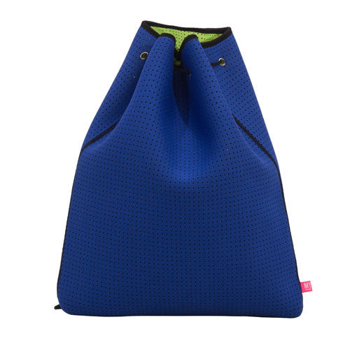 Perforated Carry All - Endless Summer (Navy / Lime)