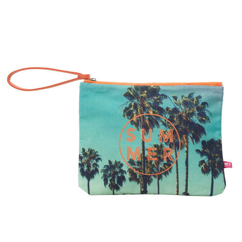 Island Pouch - Endless Summer (Teal)