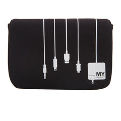 Charger Case 2.0  - Plug In (BLACK)