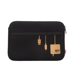 TECH ORGANIZING POUCH - PLUG IN (ROSE GOLD)