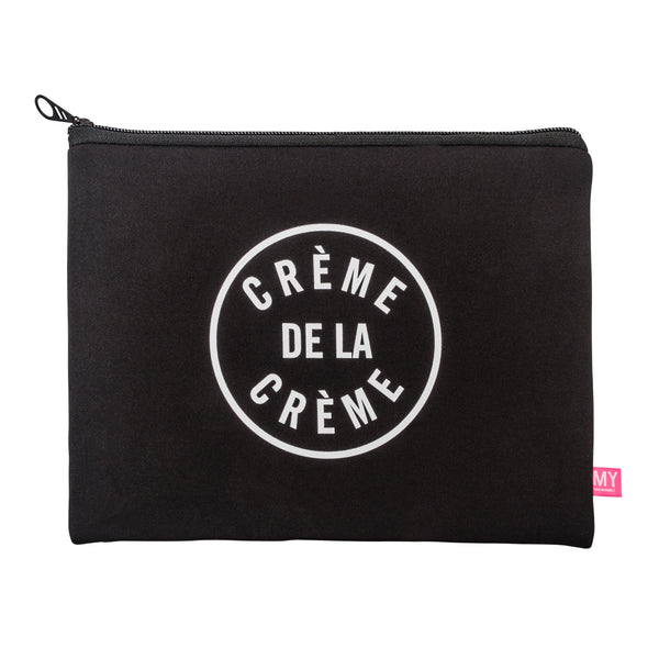 Jet Setter Pouch - French Collection - Crème