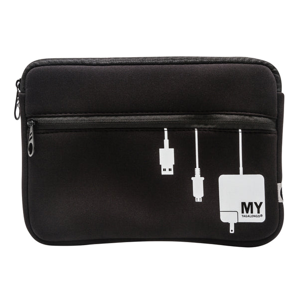 TECH ORGANIZING POUCH - PLUG IN (BLACK)