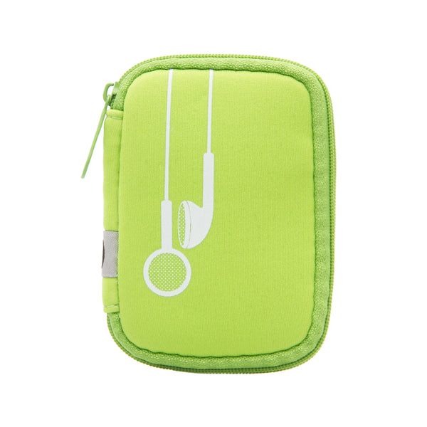 Earbud Case - Plug In (Lime)