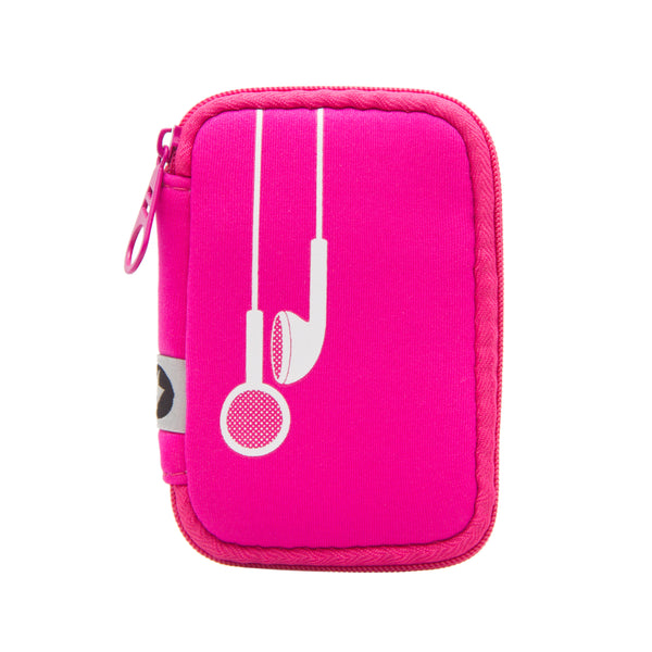 Earbud Case - Plug In (Pink)