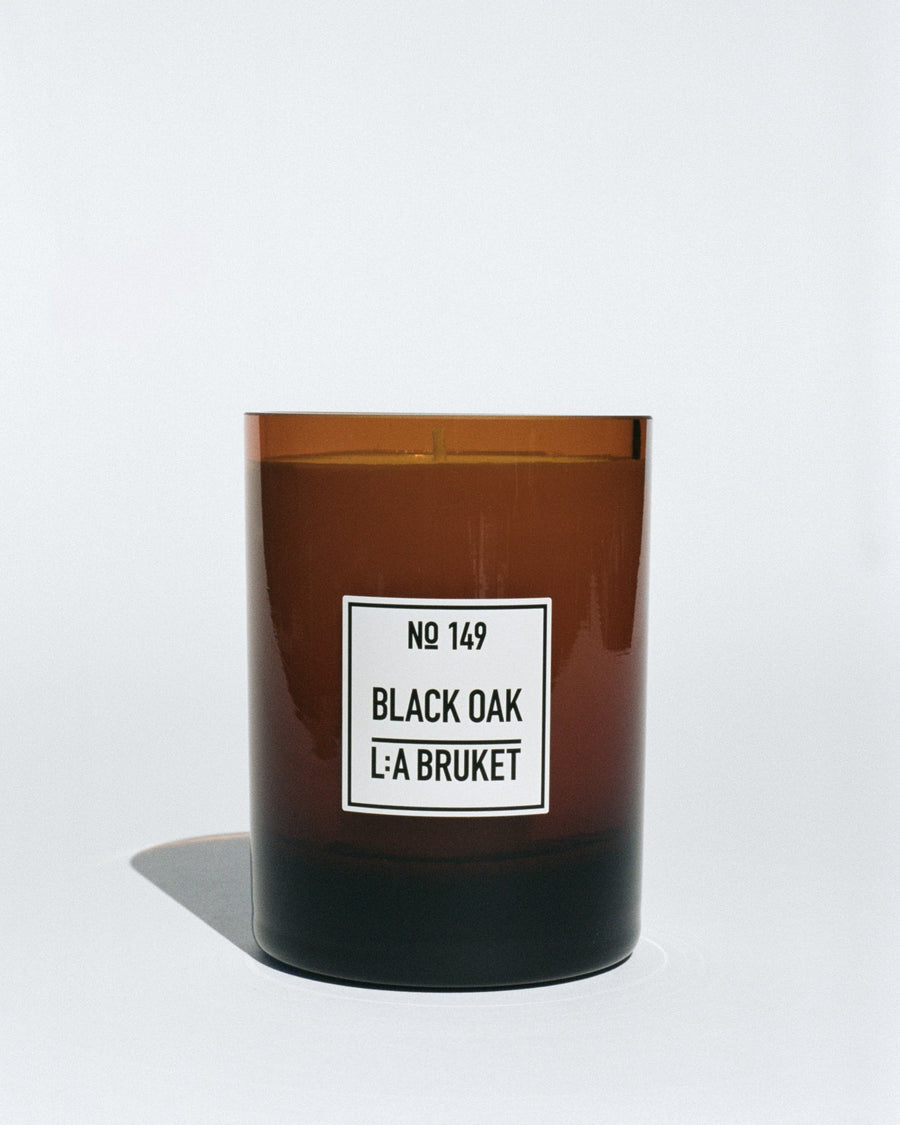 Scented Candle, Black Oak
