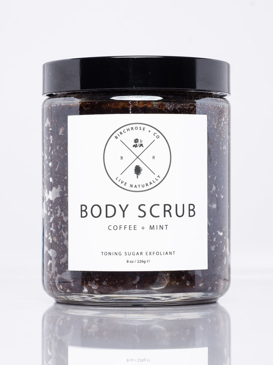 Body Scrub Coffee + Mint
