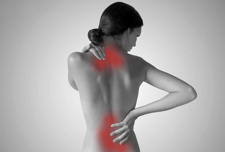 What causes cervical spine pain?