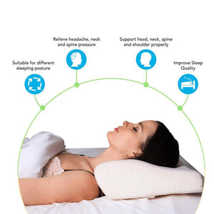 CervicalCloud™ Neck Pain Contour Pillow