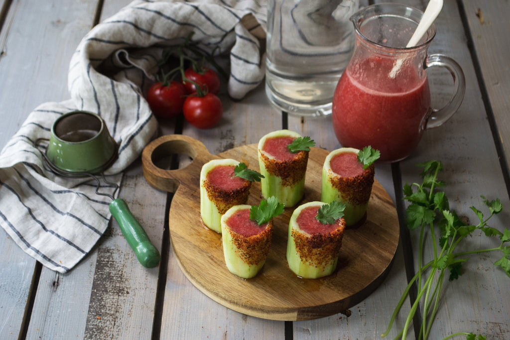 Summer Recipe: Bloody Mariachi Cucumber Shots