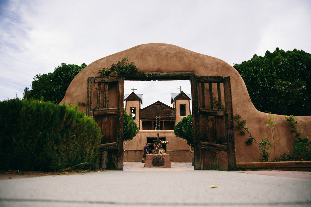 At One Time, in Texas: El Santuario de Chimayo