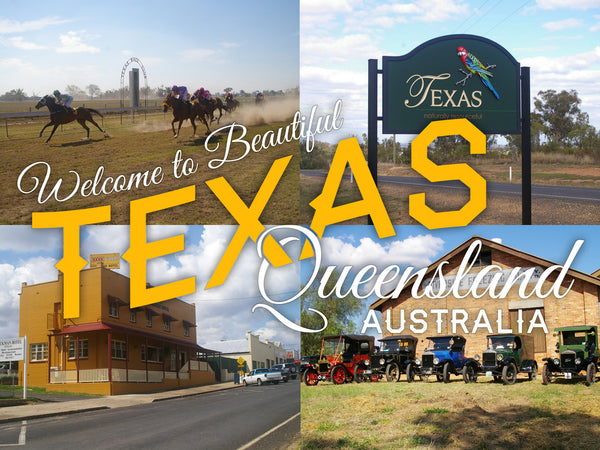 Map Of Texas Qld.Welcome To Texas Queensland Australia No 4 St James