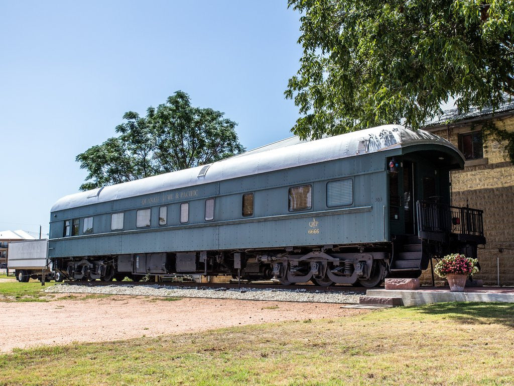 Cozy Up, Texas: The 6666 Pullman Train Car
