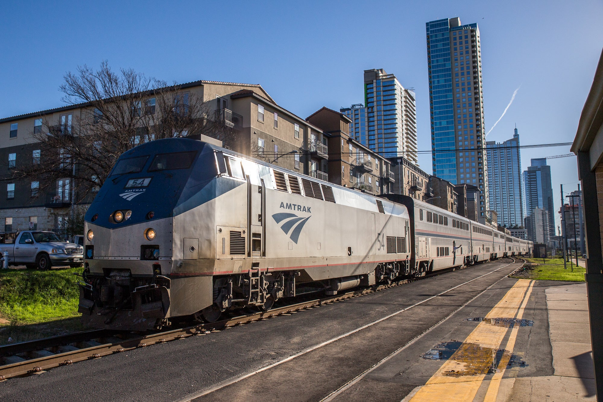 All Aboard The Texas Eagle Austin To Dallas Edition No St James - Bathrooms on amtrak trains