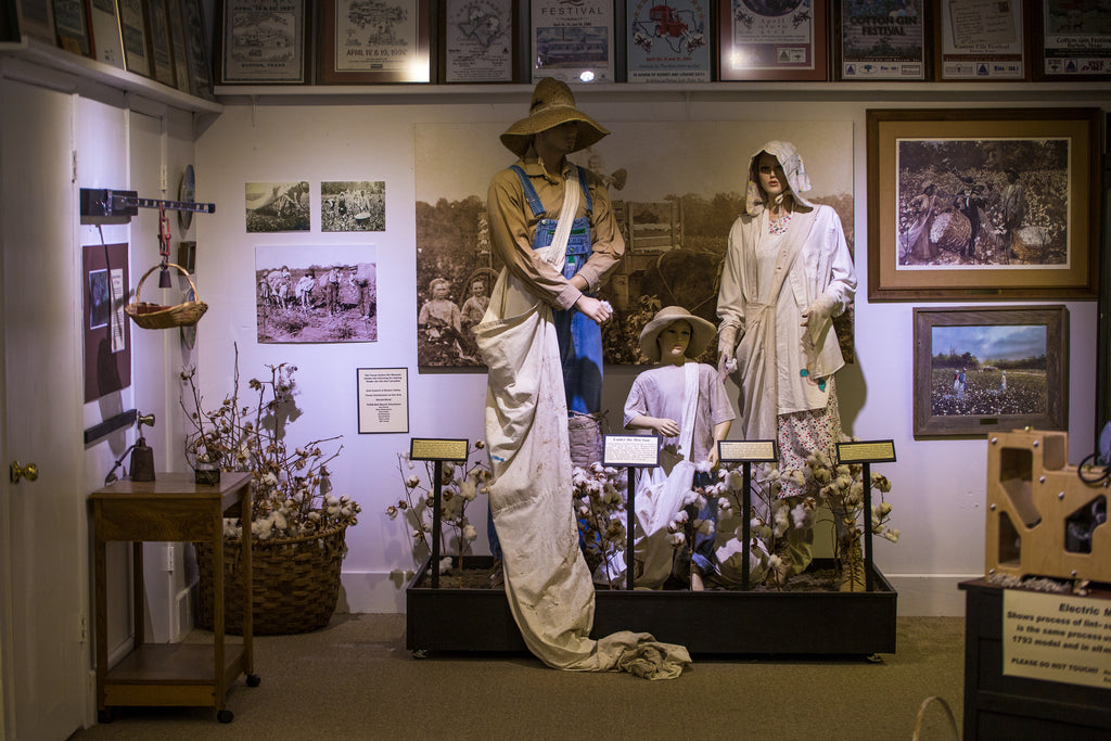 Inside the Texas Cotton Museum