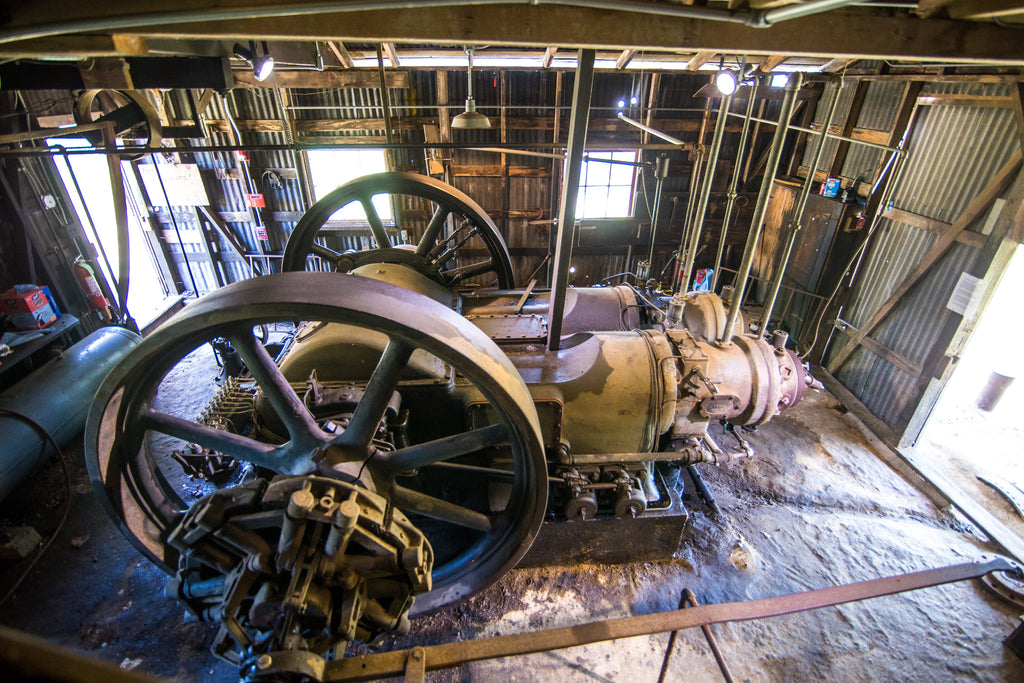 Historic Texas Cotton Gin
