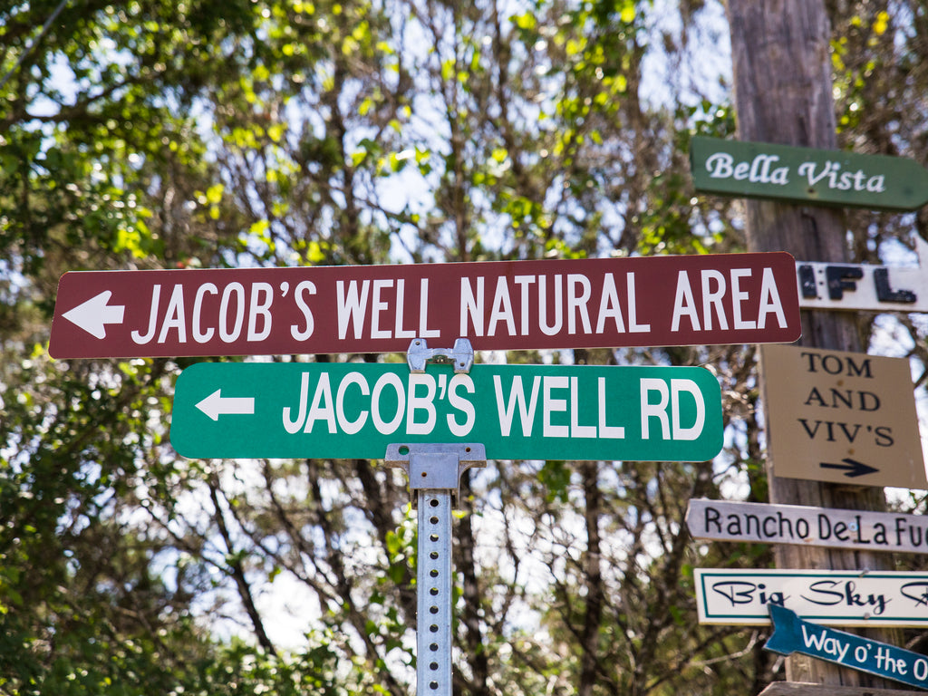 Jacobs Well Texas Spring