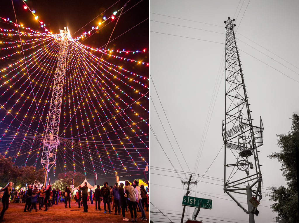 Zilker Park Moonlight Towers