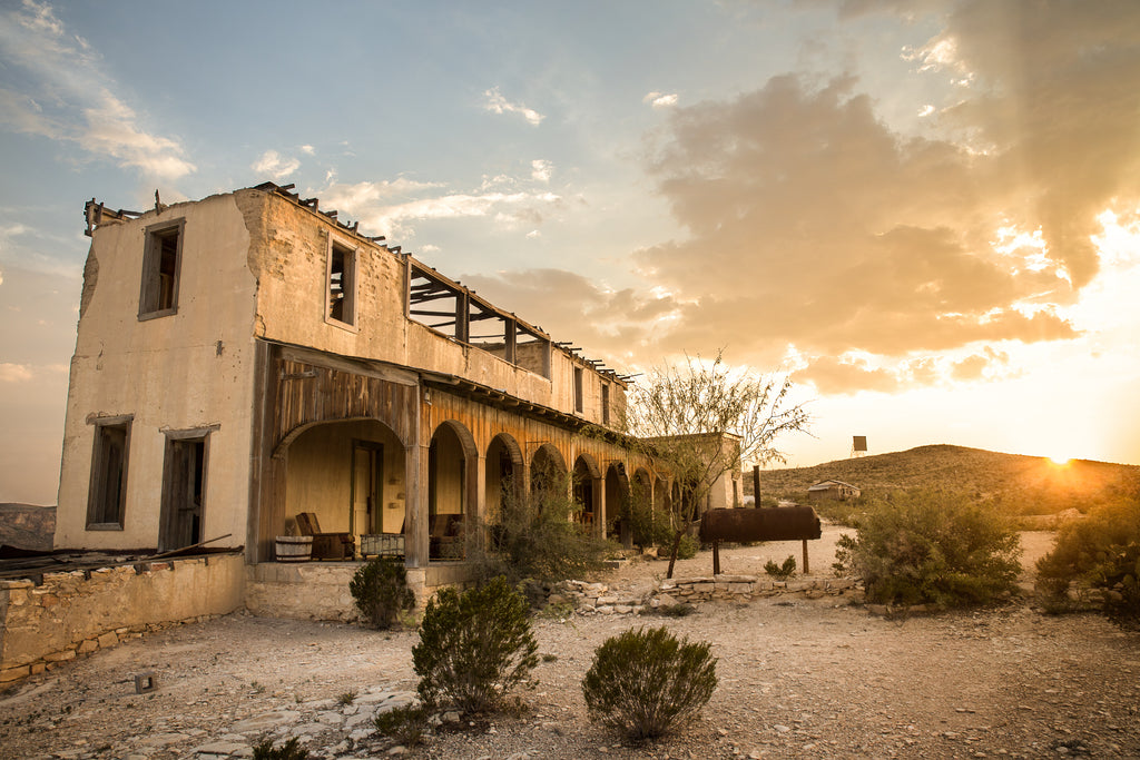 Perry Mansion Terlingua Texas