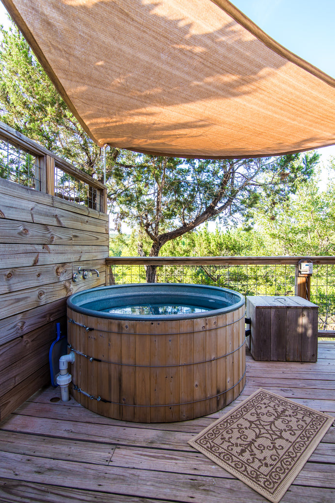 The Hot Tub at Sinya on Lone Man Creek