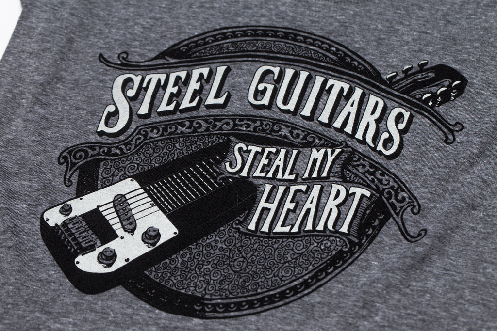 steel guitars shirt design close