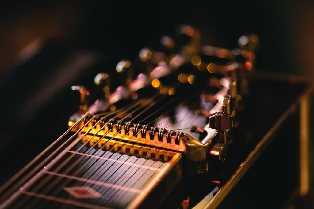 Perhaps The Biggest Step Was In 1932 When First Production Electric Lap Steel Guitars Were Made As Ever Stringed Instrument