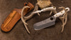 Knives of Alaska Brown Bear Combination Hunting Knives Texas Bone
