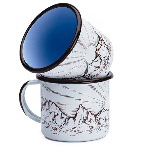 The Big Bend Enamelware Mug