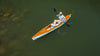 Man paddling Escobedo Boat Works Sea Dart