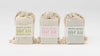 Marfa Brand Soap Bergamot Grapefruit, Rosemary Peppermint, Tea Tree Lemongrass,